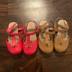 Old Navy wedges size 8 for toddler girl